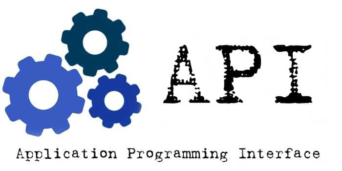 API - a programming interface for other applications
