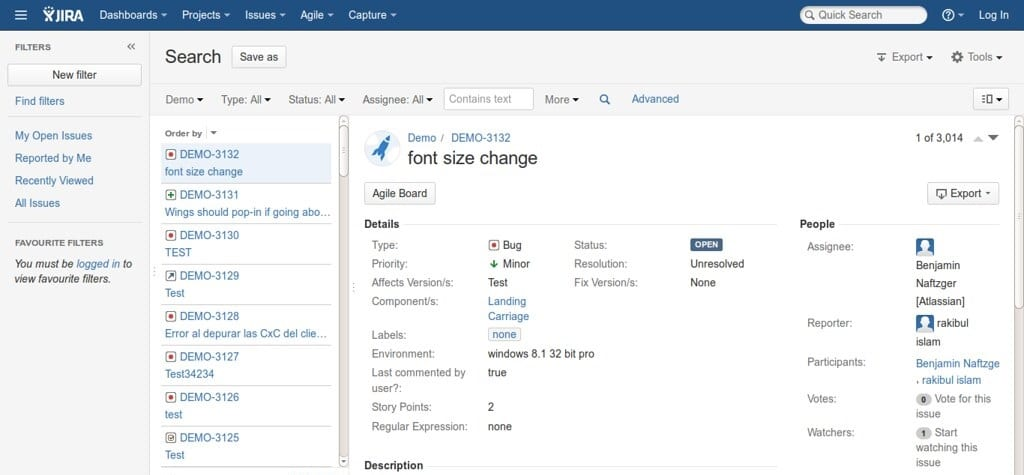 Attributes - an example in Jira