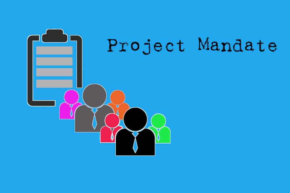 Project Mandate - the form may vary