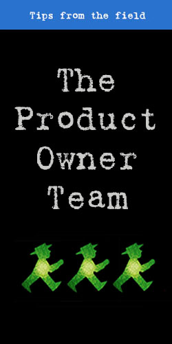 The Product Owner Team - t2informatik Blog