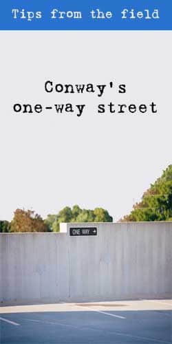 Conway's one way street - t2informatik Blog