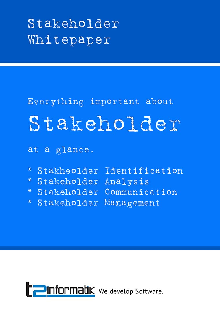 Stakeholder Whitepaper to take away