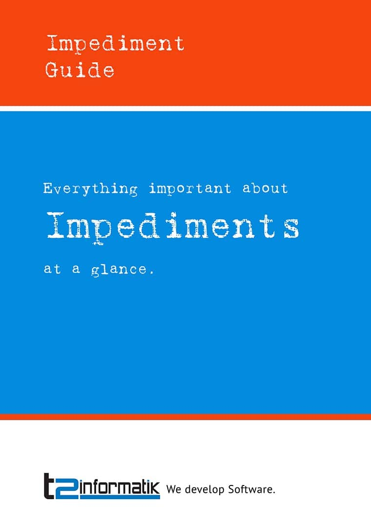 Impediment Guide to take away