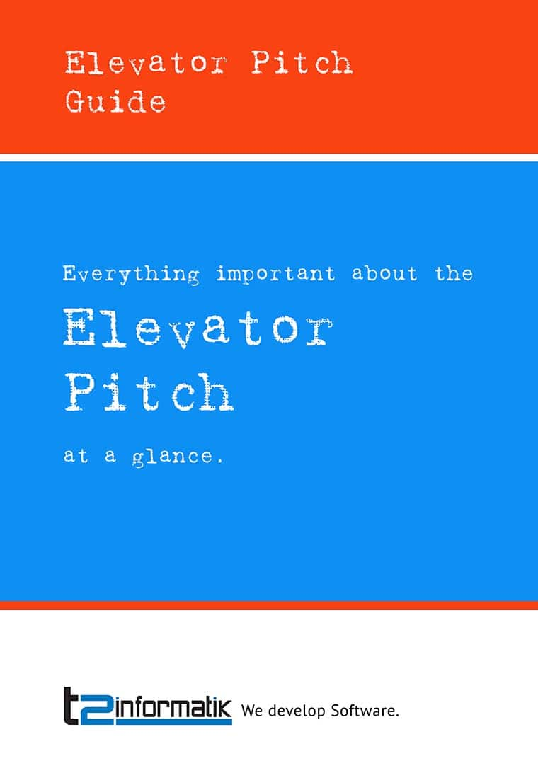 Elevator Pitch Guide to take away