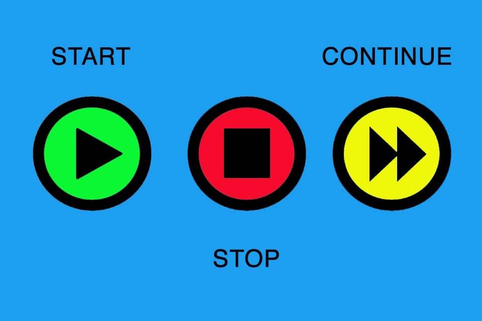Start-Stop-Continue Retrospective
