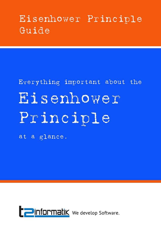 Eisenhower Principle Guide - Downloads - t2informatik