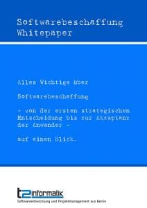 Softwarebeschaffung Whitepaper Download