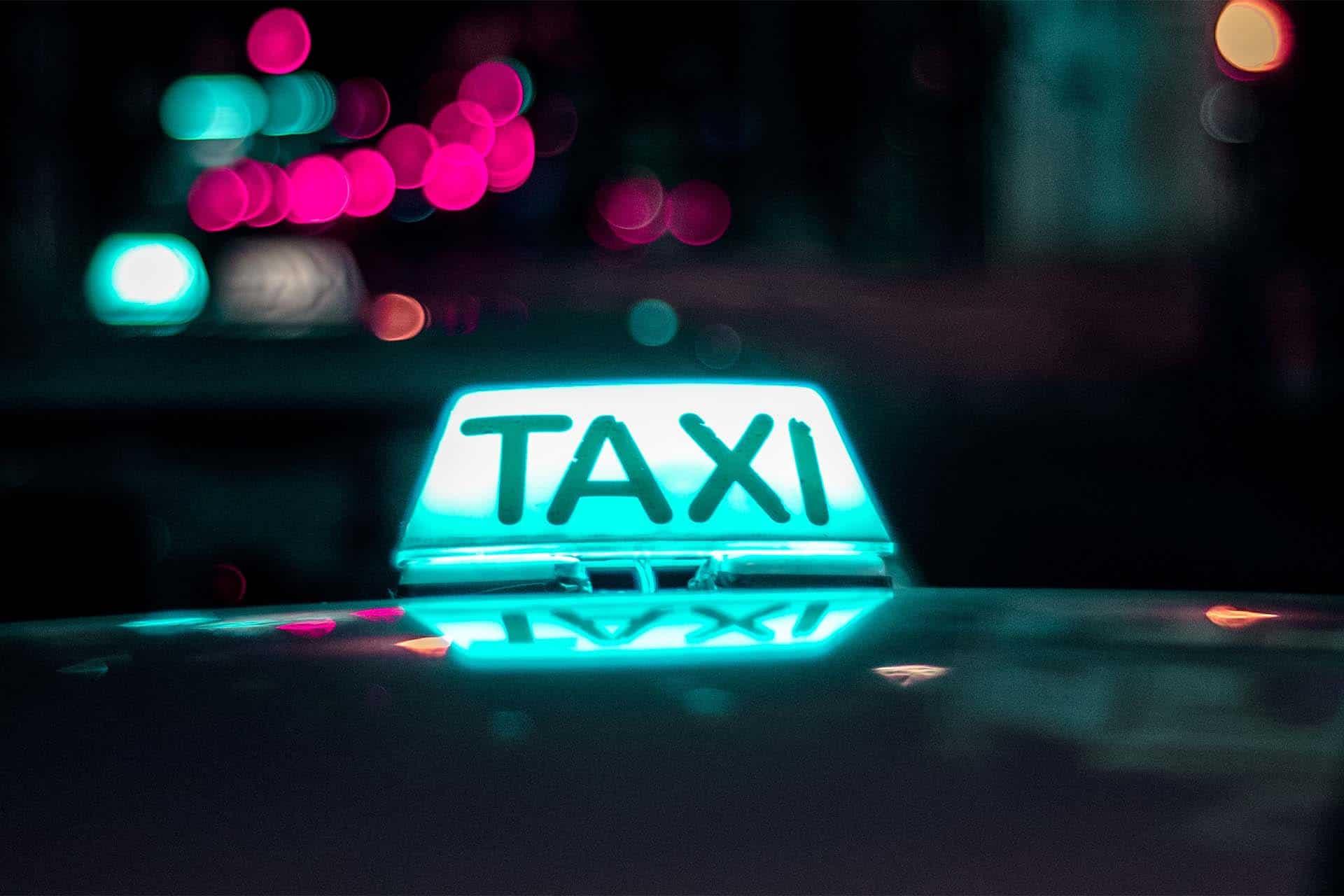 Taxi fahren - ein gutes Beispiel für Service