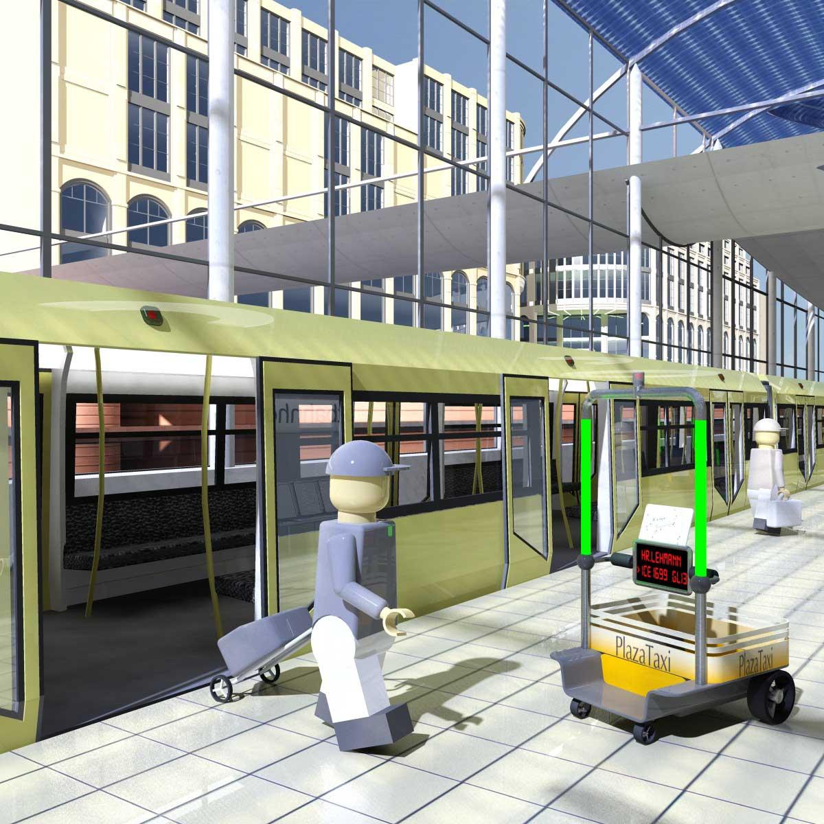 Autonome Transportroboter erleichtern die Mikromobilität.