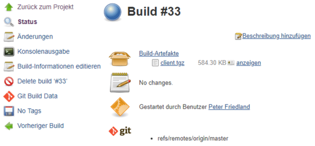 Build-Artefakt