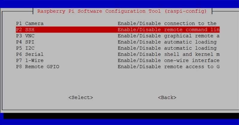 SSH konfigurieren auf der Raspberry Pi