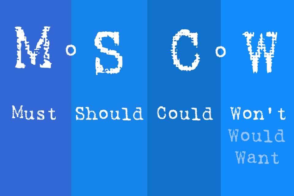 Wissen kompakt: Was ist die MoSCoW-Methode?