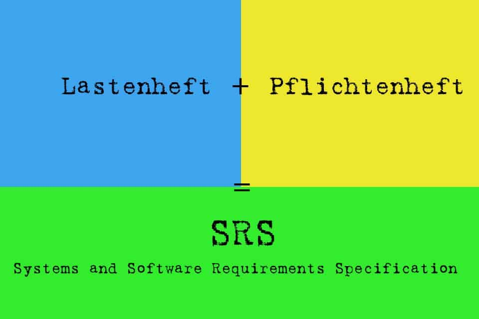 Systems and Software Requirements Specification (SRS)