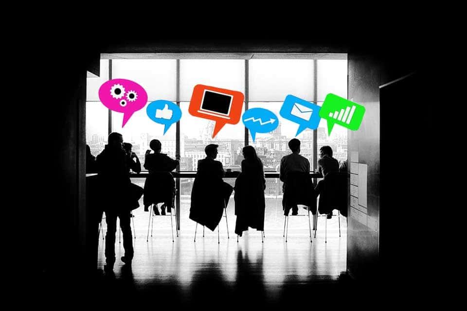 Collaboration - die Zusammenarbeit zwischen Individuen mit einem gemeinsamen Ziel