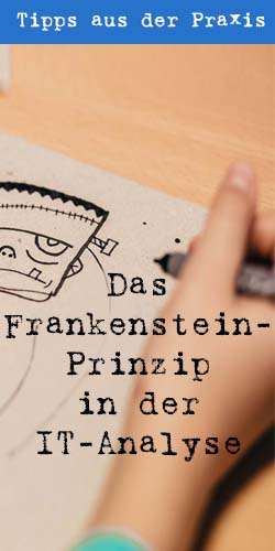 Das Frankenstein-Prinzip in der IT-Analyse - t2informatik Blog