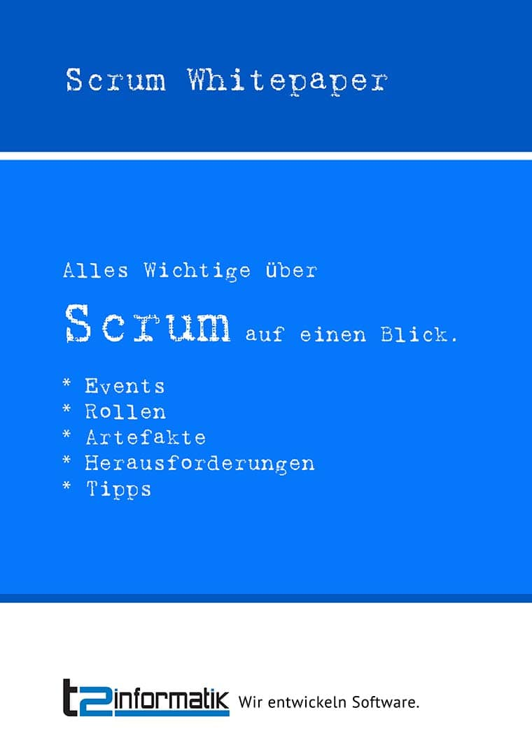 Scrum Whitepaper als Download