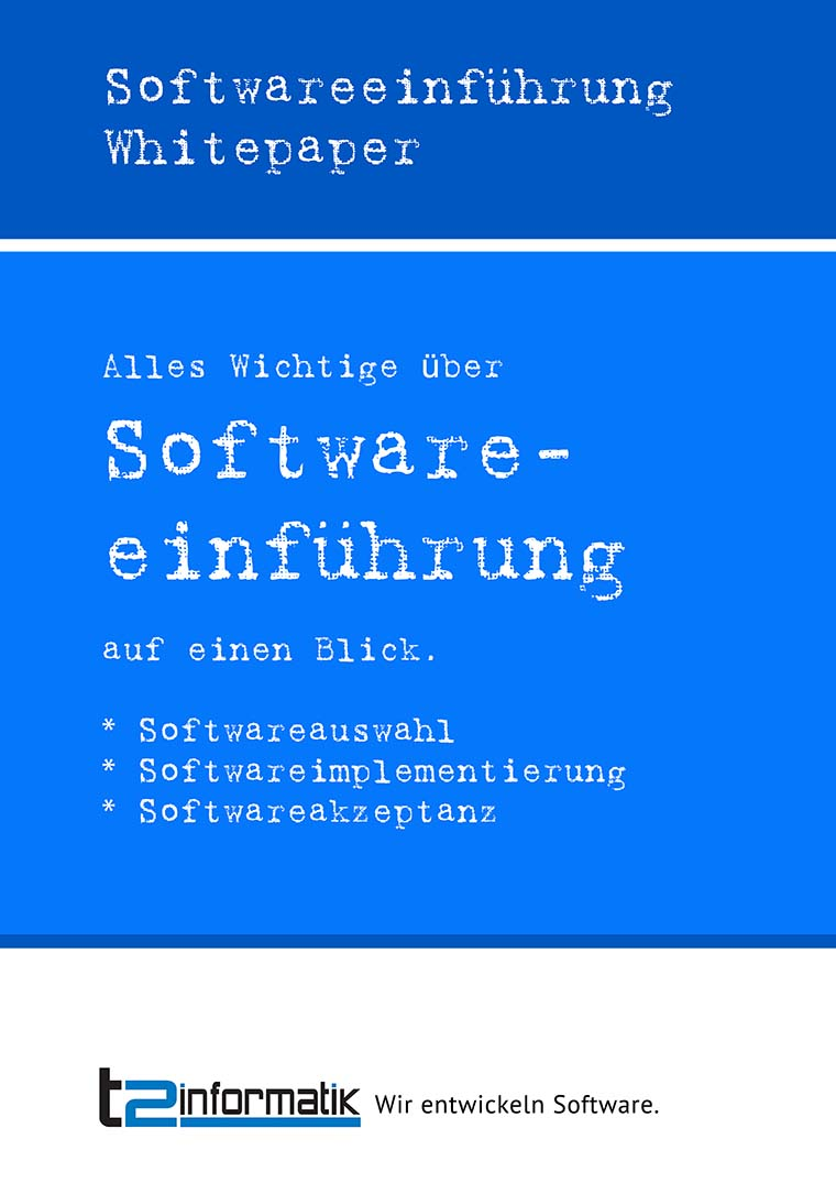 Softwareeinführung Whitepaper als Download