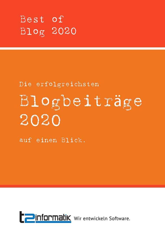 Best of Blog 2020 - Downloads - t2informatik