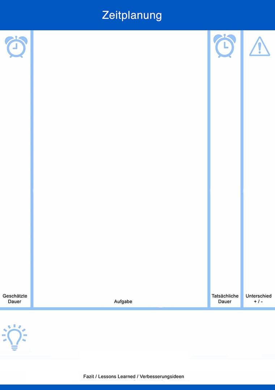 Zeitplanung Vorlage - Downloads - t2informatik